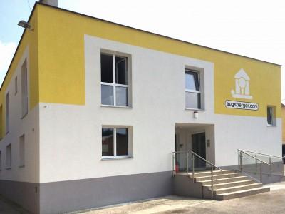 Augsberger Zentrale, Fischamend