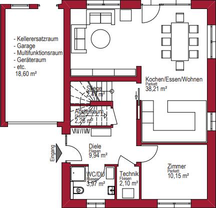 Augsberger Ziegelhaus - Planungsvorschlag